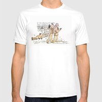 Back To The Future - Ano… Mens Fitted Tee White SMALL