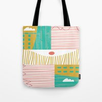 Eye On The City Tote Bag