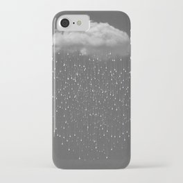 Clear iPhone Case - Let It Fall II - soaring anchor designs