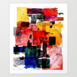 Art Print - Im Kleingartenverein -  Kay Weber