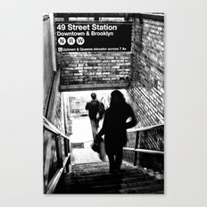 49th Street Station Canvas Print