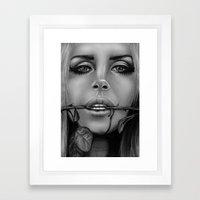 + Summertime Sadness + Framed Art Print