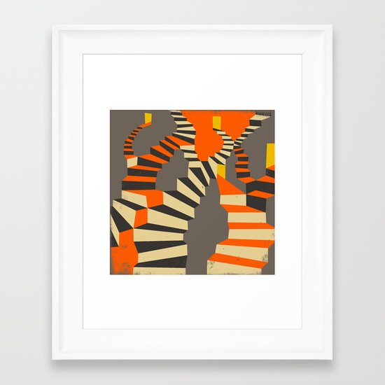 Lost and Found (im right here if you are) Framed Art Print