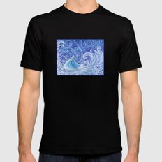 .:Let the Storm Rage On:. Mens Fitted Tee Black SMALL