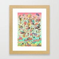 Schema 11 Framed Art Print