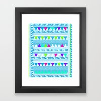 PLAYGROUND two ( p l a y f u l)  Framed Art Print