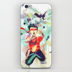 Pursuit of Happiness (Blindfolded) iPhone & iPod Skin