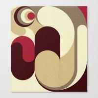 5 Colors Composition (#1… Canvas Print