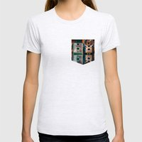 Mintage Womens Fitted Tee Ash Grey SMALL
