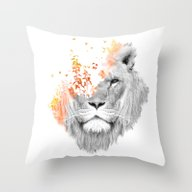 If I Roar (The King Lion… Throw Pillow