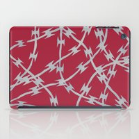 Trapped Red iPad Case