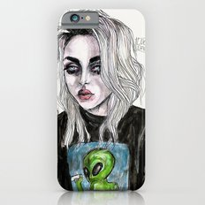 Frances Bean Cobain No,6 iPhone 6 Slim Case
