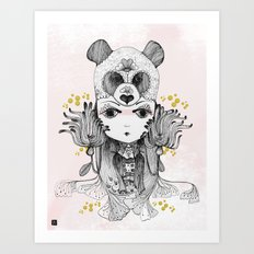 Bear Spirit Art Print