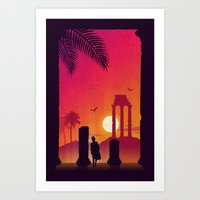 Fading Empire Art Print