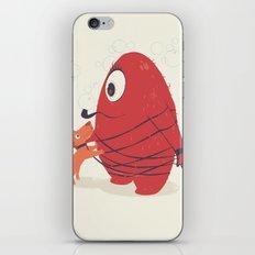 Cyclopes Monster Blob & Orange Dog iPhone & iPod Skin