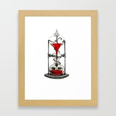 Life Clock Framed Art Print