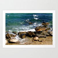 Perfect Beach Day Art Print