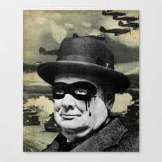 Churchill Canvas Print