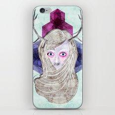 Hair Mask iPhone & iPod Skin