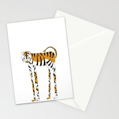 Long legs Tiger Stationery Cards