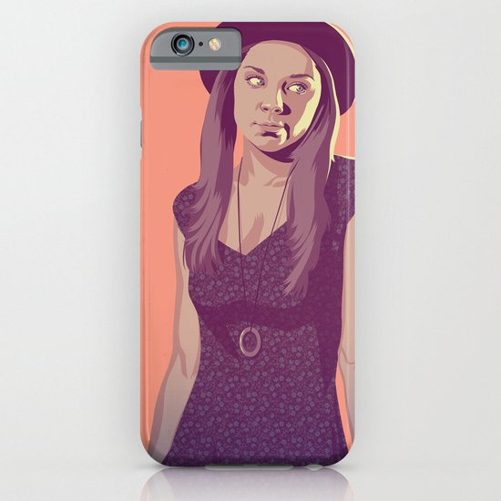 GAME OF THRONES 80/90s ERA CHARACTERS - Margaery iPhone & iPod Case