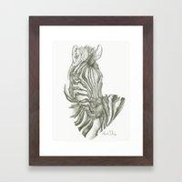 Zed Framed Art Print