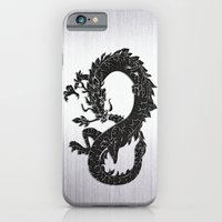 Black Oriental Dragon O… iPhone 6 Slim Case
