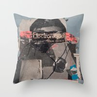 We Have Electronique Throw Pillow