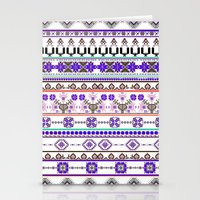 Purple Tradition Stationery Cards