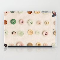 Buttons iPad Case