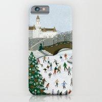 Ice Skating Pond iPhone 6 Slim Case