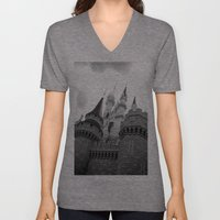 Disney Castle Unisex V-Neck