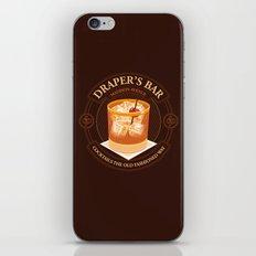 Draper's Bar iPhone & iPod Skin