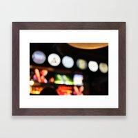 Night Out Framed Art Print