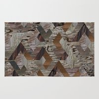 Wood Quilt Rug