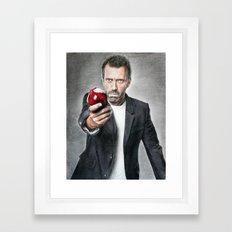 House MD - Hugh Laurie Framed Art Print