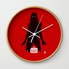 Carrie (Red Collection) Wall Clock