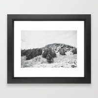 MONTANA BEAUTY In The BL… Framed Art Print