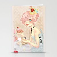 Let Them Eat Cake! Stationery Cards