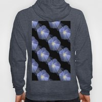 Morning Glory Illusion On Black Hoody