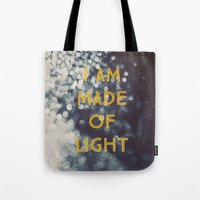 Made Of Light Tote Bag