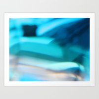 Glass Abstract Art Print