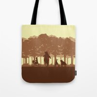 Biking With Friends Tote Bag
