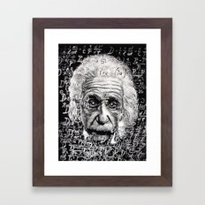 The Mind of a Genius Framed Art Print