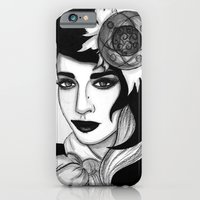 iPhone & iPod Case featuring Ashley Dzerigian in VOGUE by ArtEleanor
