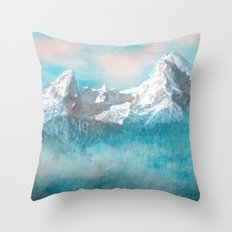 MOUNTAIN SCAPES | Watzmann Throw Pillow