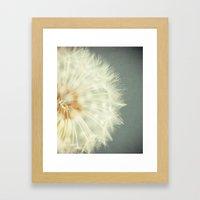 Wish. Framed Art Print