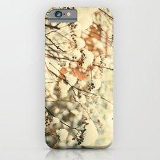 Vintage bush in the Snow iPhone 6s Slim Case