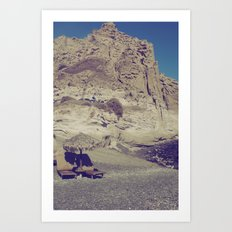 Private Paradise  Art Print