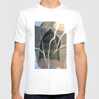 magic door Mens Fitted Tee White SMALL